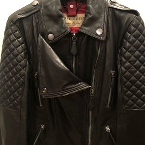 Authentic Burberry Leather Jacket